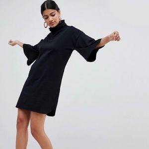ASOS Turtleneck Dress - Black
